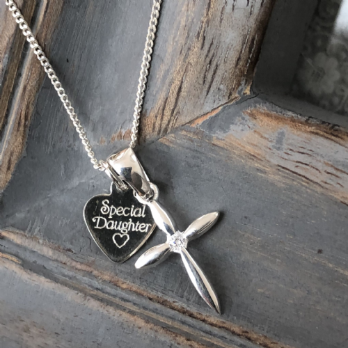 Confirmation  gift necklace for a special girl